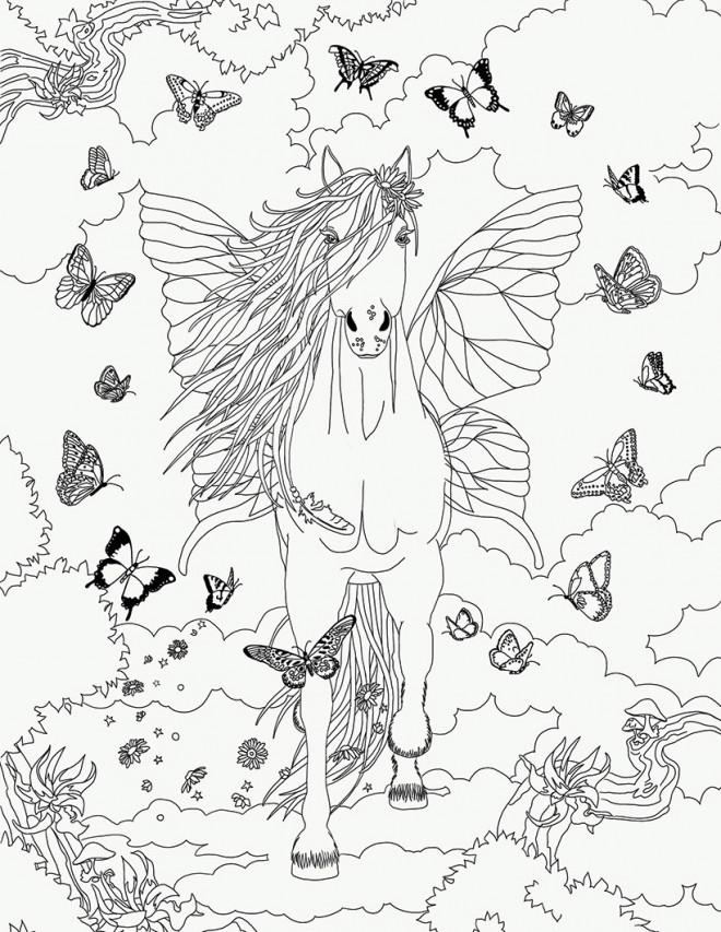 Coloriage et dessins gratuits Bella Sara gratuit à imprimer