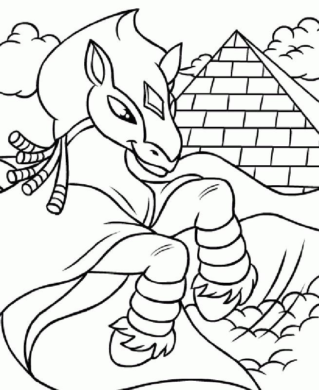 Coloriage et dessins gratuits Bella Sara gratuit en ligne à imprimer