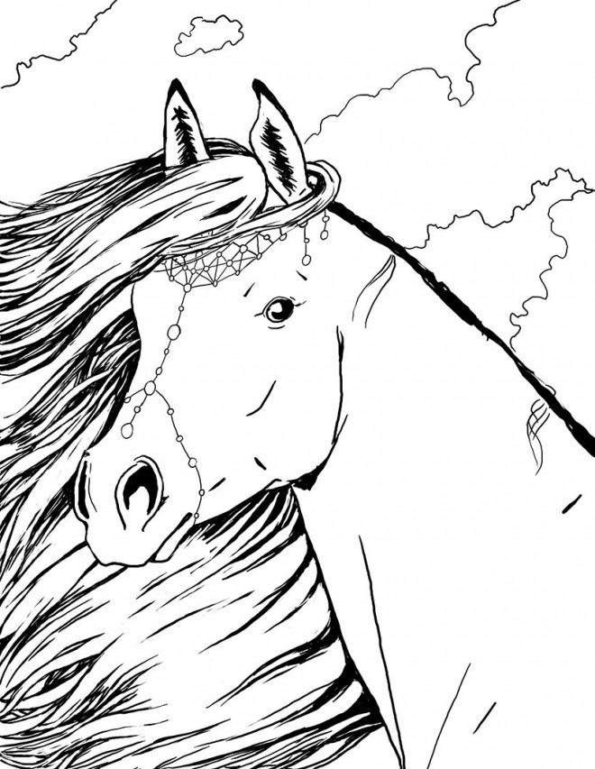 Coloriage bella sara jewel dessin gratuit imprimer - Coloriage de chevaux a imprimer gratuit ...