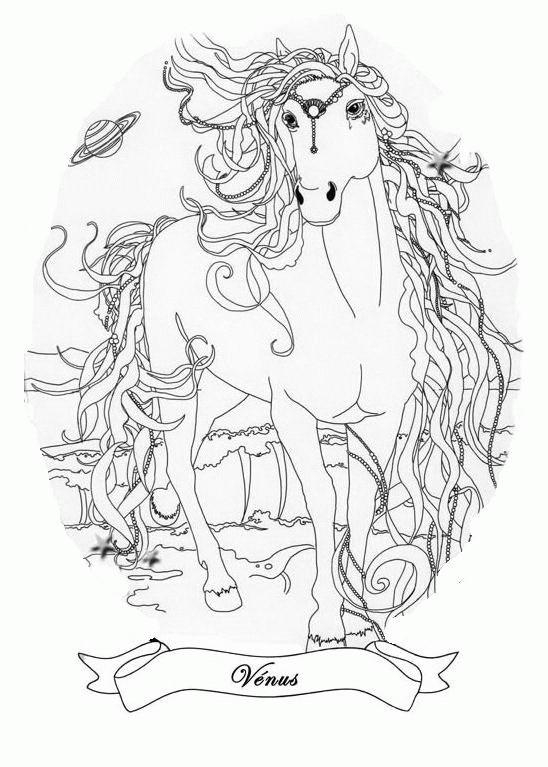 Coloriage et dessins gratuits Bella Sara Venus à imprimer