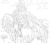 Coloriage et dessins gratuit Le royaume de Bella Sara à imprimer