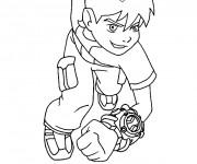 Coloriage et dessins gratuit Ben 10 1 à imprimer