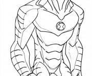 Coloriage et dessins gratuit Ben 10 Alien Force en ligne à imprimer