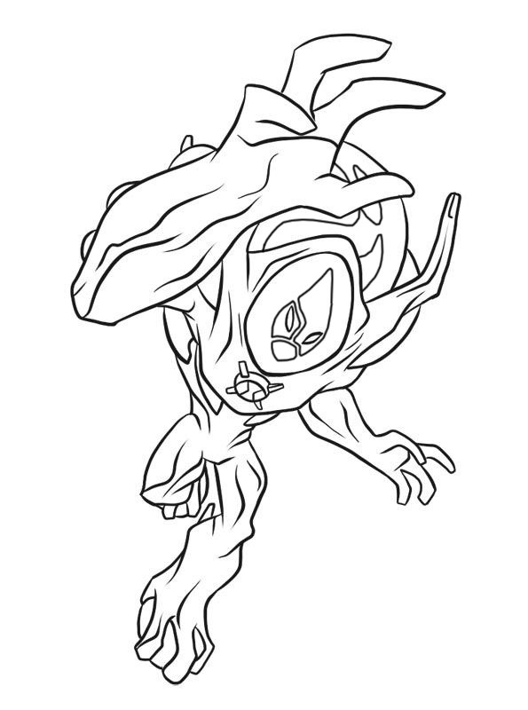 Coloriage et dessins gratuits Ben 10 Alien Force gratuit à imprimer