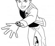 Coloriage et dessins gratuit Ben 10 omniverse gratuit à imprimer