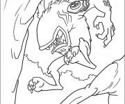Coloriage Ben 10 Wildmut
