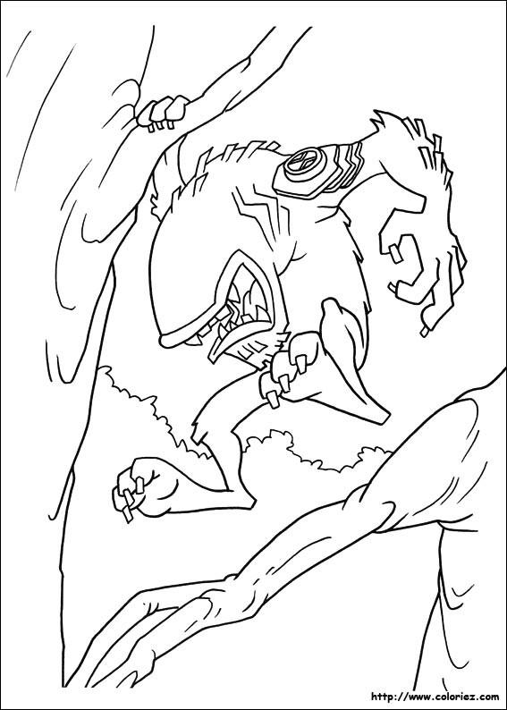 Coloriage et dessins gratuits Ben 10 Wildmut à imprimer