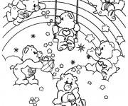 Dessiner en ligne vos coloriages préférés de Bisounours