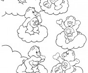 Coloriage dessin  Bisounours à imprimer