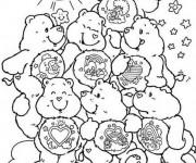 Coloriage dessin  Bisounours en ligne