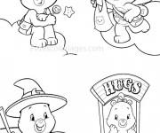 Coloriage et dessins gratuit Bisounours en ligne gratuit à imprimer