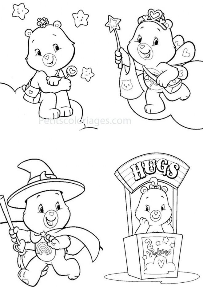 Coloriage bisounours en ligne gratuit dessin gratuit - Dessin en ligne gratuit ...