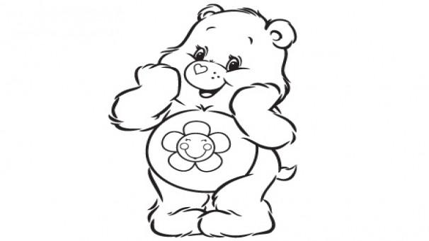 Coloriage et dessins gratuits Bisounours Funshine à imprimer