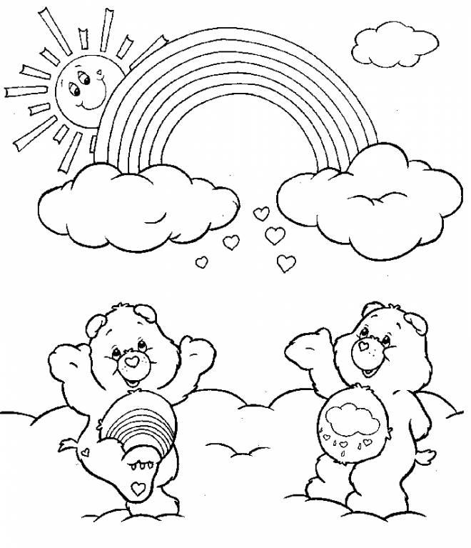 Coloriage et dessins gratuits Tougentil et Grognours s'amusent à imprimer