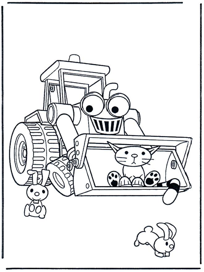 Coloriage et dessins gratuits Bob le bricoleur dessin animé à imprimer