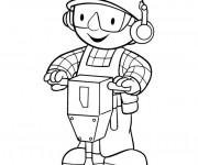 Coloriage et dessins gratuit Bob le bricoleur gratuit à imprimer
