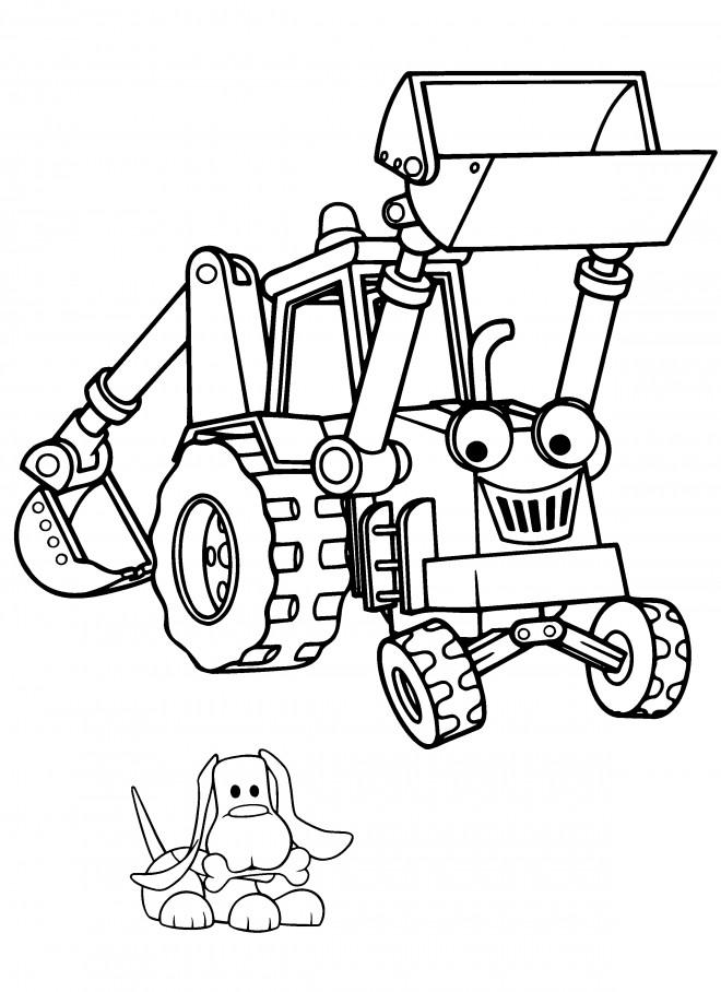 Coloriage et dessins gratuits Bob le bricoleur impression gratuite à imprimer