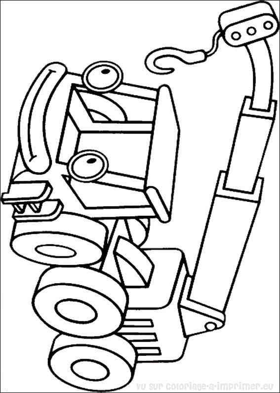 Coloriage et dessins gratuits Bob le bricoleur Lofty à imprimer