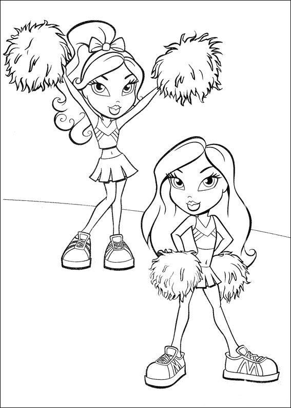 Coloriage et dessins gratuits Bratz pour Fille à imprimer