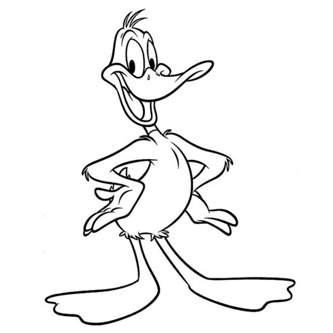 Coloriage et dessins gratuits Bugs Bunny daffy duck à imprimer