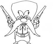 Coloriage et dessins gratuit Bugs Bunny en ligne à imprimer