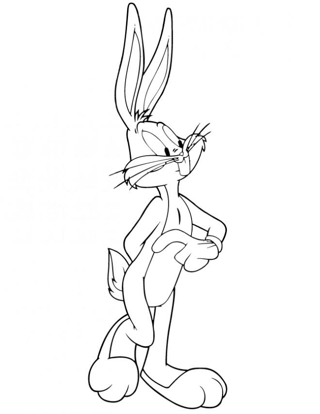 Coloriage bugs bunny gratuit dessin gratuit imprimer - Coloriage bugs bunny a imprimer ...