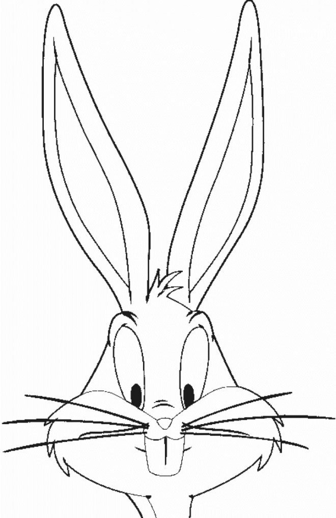 Coloriage bugs bunny looney toons dessin gratuit imprimer - Coloriage bugs bunny a imprimer ...