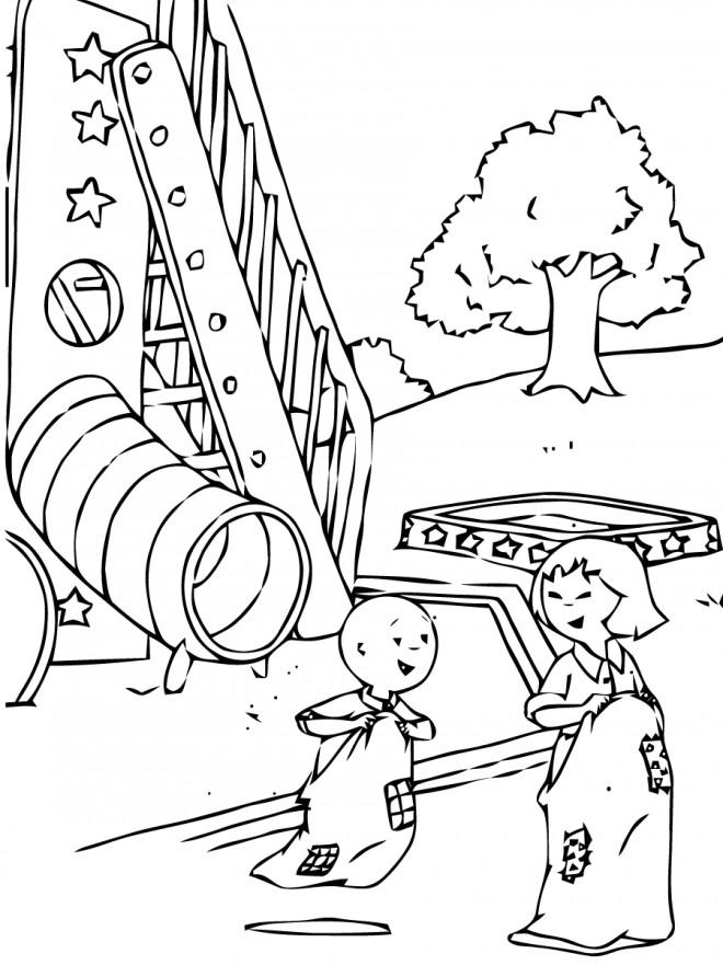 Coloriage caillou s 39 amuse dessin gratuit imprimer - Caillou coloriage ...