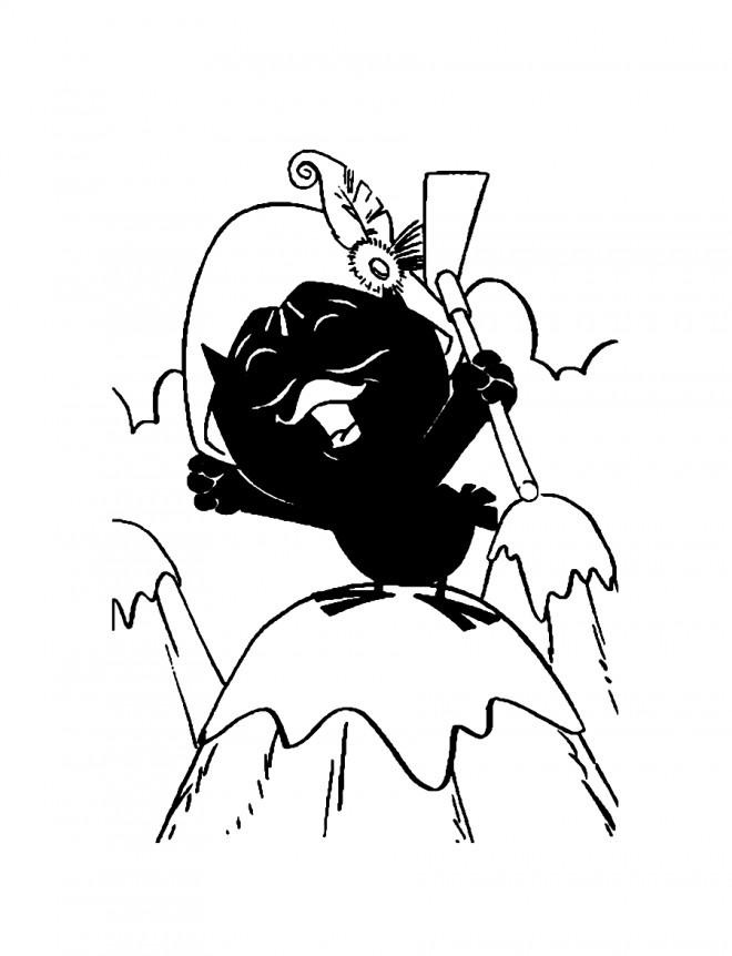 Coloriage et dessins gratuits Calimero chante à imprimer