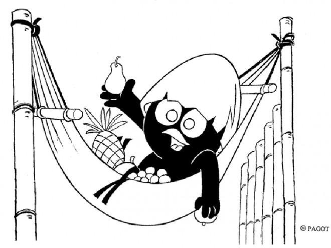 Coloriage et dessins gratuits Calimero dessin animé 2015 à imprimer
