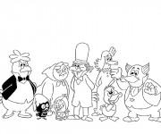 Coloriage et dessins gratuit Calimero et ses amis à imprimer