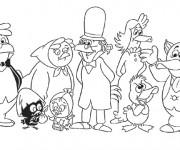 Coloriage Calimero et ses amis en ligne