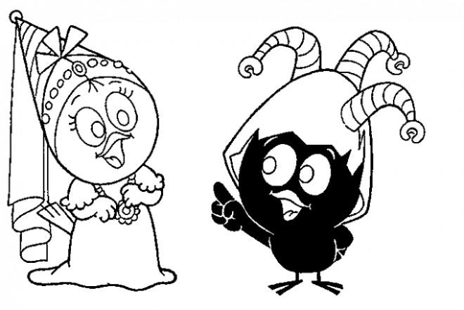 Coloriage et dessins gratuits Image à colorier Calimero à imprimer