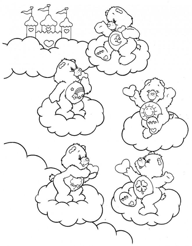 Coloriage et dessins gratuits Bisounours à imprimer à imprimer