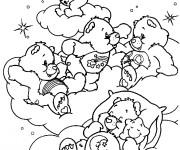 Coloriage et dessins gratuit Bisounours dessin animé à imprimer