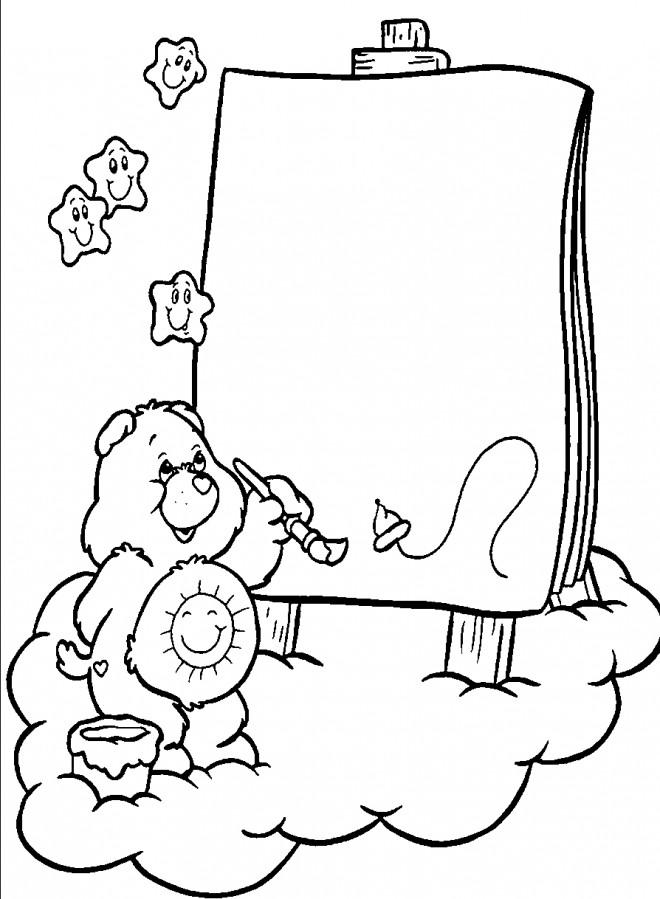 Coloriage et dessins gratuits Calinour dessine à imprimer