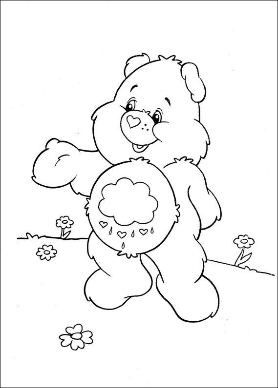 Coloriage et dessins gratuits Calinour mignon à imprimer