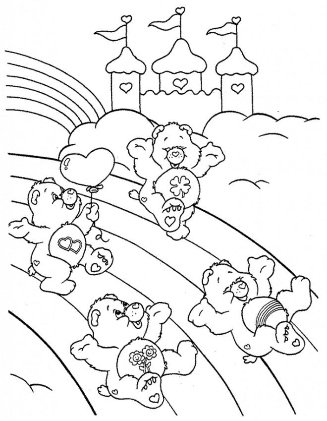 Coloriage et dessins gratuits Calinours 6 à imprimer