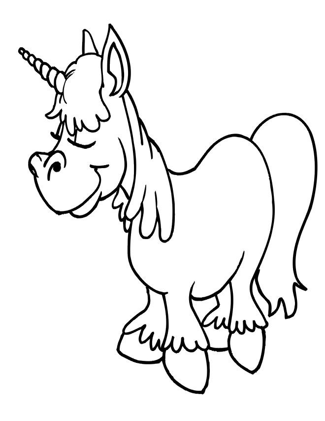 Coloriage et dessins gratuits Calinours cheval à imprimer