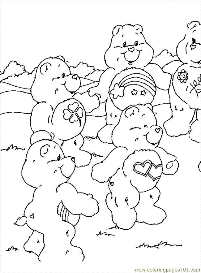 Coloriage et dessins gratuits Calinours dansent à imprimer