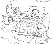 Coloriage et dessins gratuit Calinours dessin en ligne à imprimer