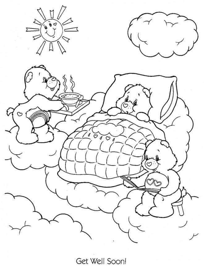 Coloriage et dessins gratuits Calinours dessin en ligne à imprimer