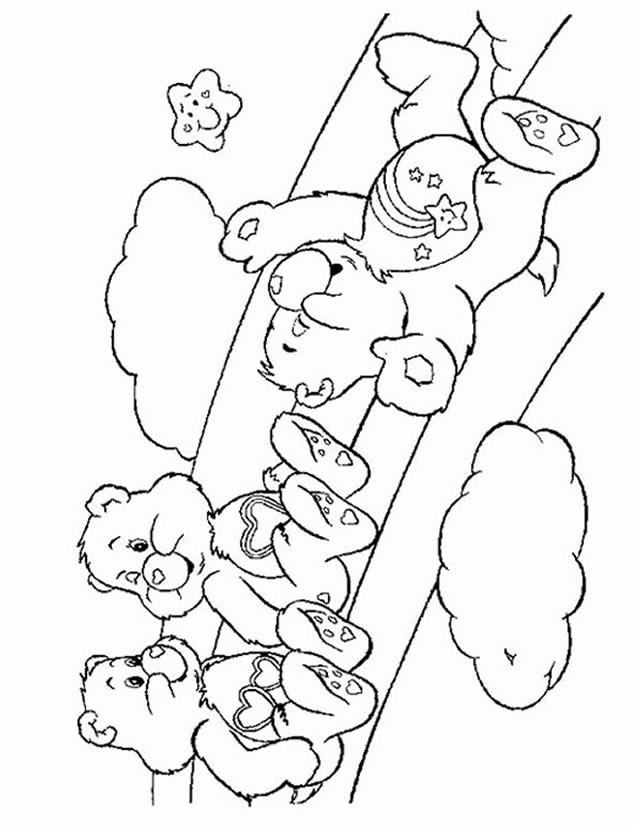 Coloriage et dessins gratuits Calinours jouent à imprimer
