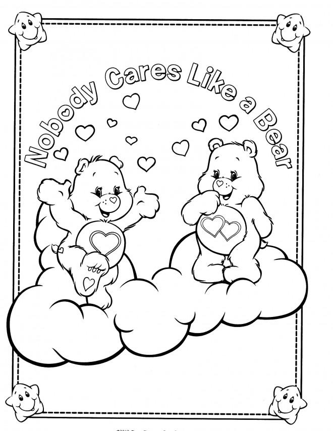 Coloriage et dessins gratuits Calinours ours à imprimer