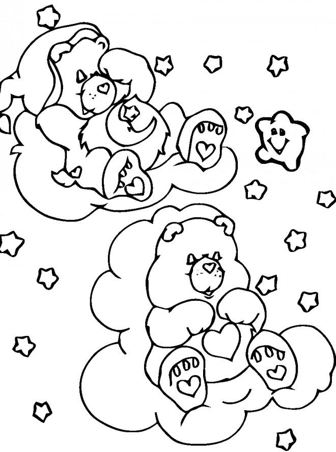 Coloriage et dessins gratuits Calinours se reposent à imprimer