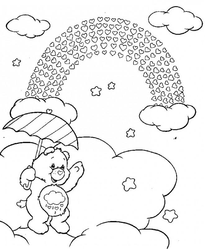 Coloriage et dessins gratuits Calinours Toucalin à imprimer
