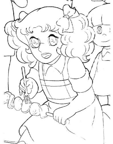 Coloriage et dessins gratuits Candy 13 à imprimer