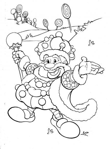 Coloriage et dessins gratuits Candy 25 à imprimer
