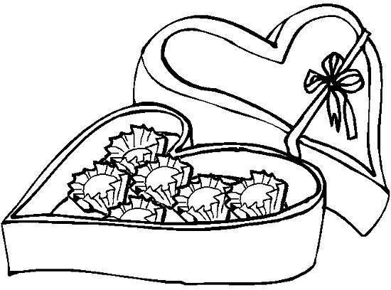 Coloriage et dessins gratuits Candy bonbons en boîte à imprimer