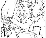 Coloriage et dessins gratuit Candy et Annie à imprimer